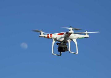 Drone Mounted Camara