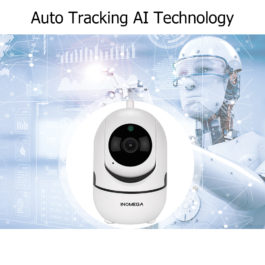 Intelligent Auto Tracking Of Human - Home Security Surveillance Camera - White 1