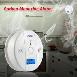 LCD Photoelectric Carbon Monoxide CO Gas Sensor Detector 1