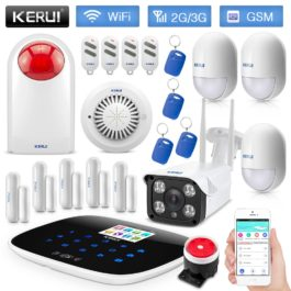 DIY Home Security Alarm system - KERUI G193 Upgrade-B Kit
