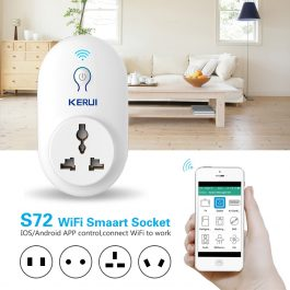 KERUI Smart Power Point Adapter - Wifi app controlled