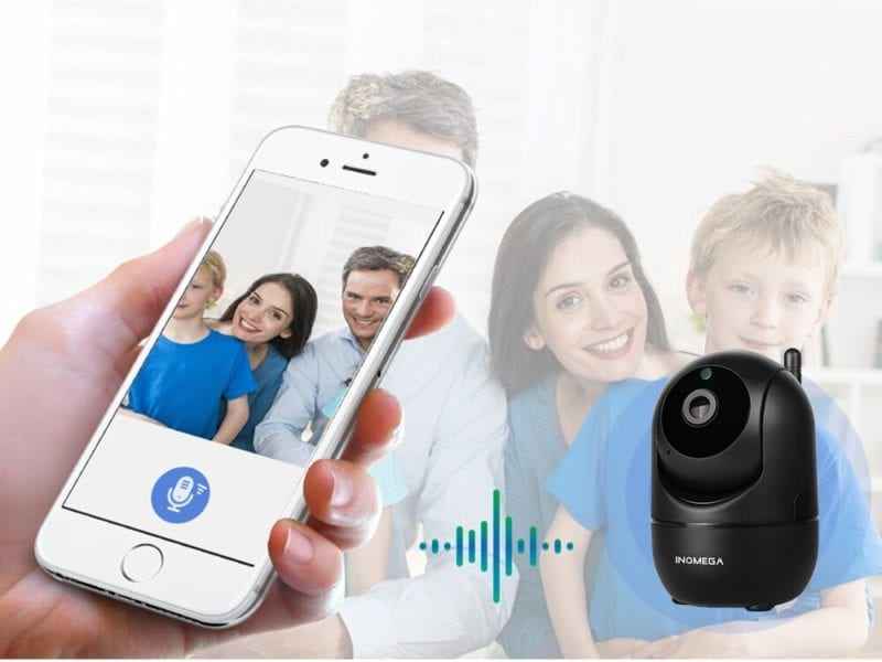 2-Way Audio Camera