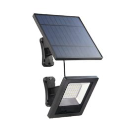 Ousam LED Solar Light With Panel 3Meters Cable Garden Floodlight Waterproof Wall Solar Lamp For Outdoor Lawn Lighting