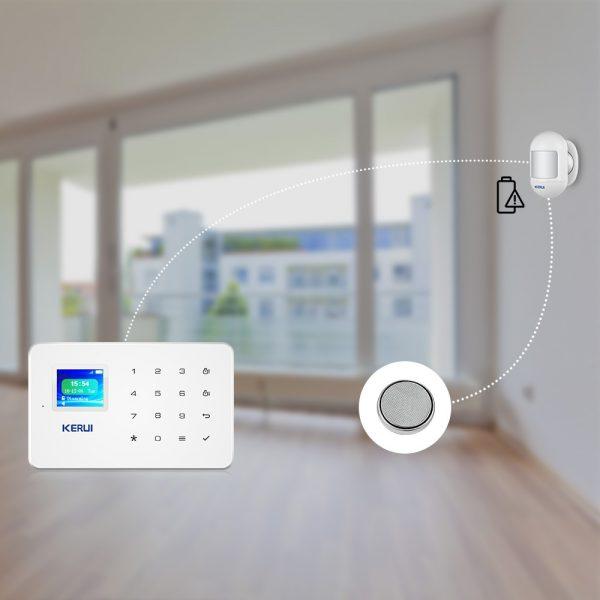 KERUI Wireless Mini PIR Motion Sensor Detector 3