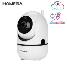 Intelligent Auto Tracking Of Human - Home Security Surveillance Camera - White