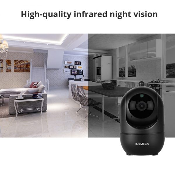 PTZ Security Camera & Baby Monitor - Motion Tracking and 2 way audio communication 3