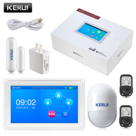 DIY Home Security Wireless Alarm System - Kerui K7 Starter Kit