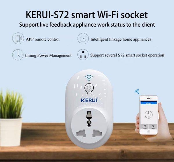 KERUI Smart Power Point Adapter - Wifi app controlled 2