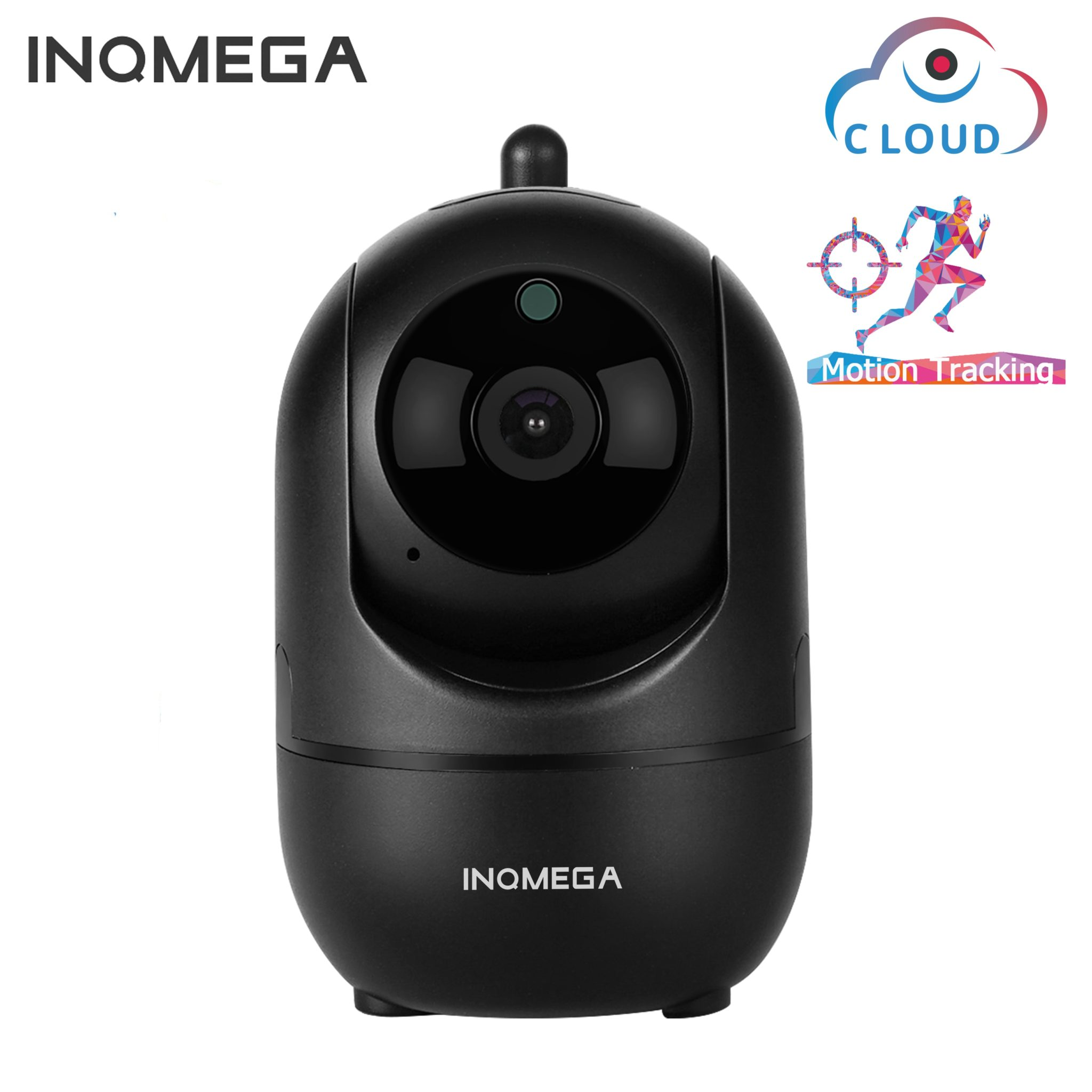 PTZ Security Camera & Baby Monitor - Motion Tracking and 2 way audio communication