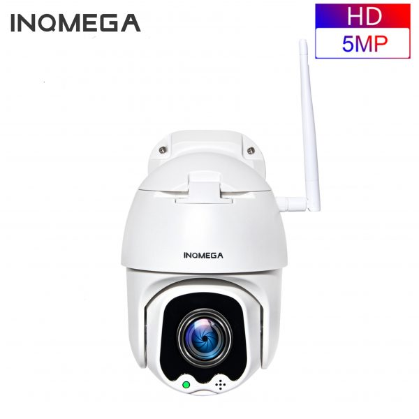 INQMEGA 5MP PTZ Speed Dome IP Camera WiFi Wireless 4X Digital ZOOM Outdoor Security Surveillance Waterproof Networt CCTV Camera 1