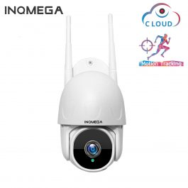 INQMEGA 1 Inch Cloud 1080P PTZ Speed Dome Wifi Camera Outdoor 2MP Auto-Tracking Camera Wireless Camera Home Surveillance IP Cam 1