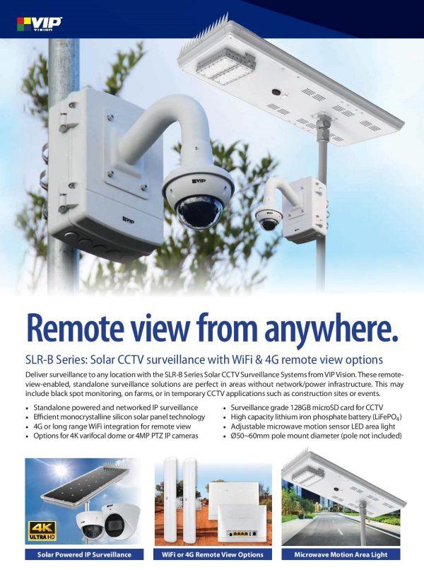 SLR-B Series Solar Surveillance Systems