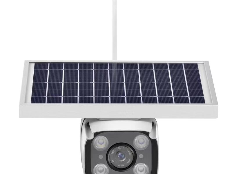 SmartYIBA 4G Solar Camera with 2-way Intercom 5.5w Solar Panel PIR Motion Detection Free Cloud Storage HD IP Camera Rainproof 1