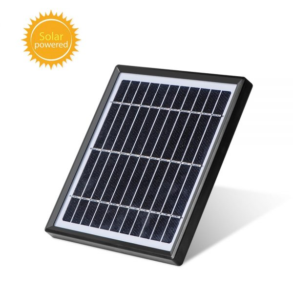 4G & wifi Solar powered surveillance security camera - 1080P with built in solar panel and external solar panel 6
