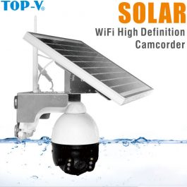 DTY Solar Powered security camera - 4G LTE 1080P 4X Zoom Audio IR Night View Outdoor Video Surveillance Camera 1