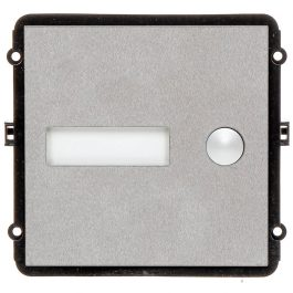 The INTIPVDSB1 is a single button IP door station module for the VIP Vision Multi-Tenant Intercom Series. This compact unit features a robust stainless steel front pane