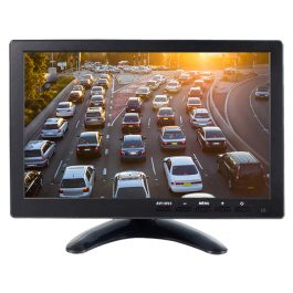 The LCD10SD3 is an HD HDMI monitor for use in vehicles. It can function both as a live-view monitor for mobile video recorders and as a USB-compatible multimedia centre.