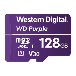 WDSD128GB is a surveillance grade MicroSD card with 128GB of storage. Record on-the-edge footage and save it directly onto MicroSD with any of our SD-compatible cameras.