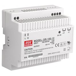 The PSDR12V7A is a 12VDC Class II DIN rail mount switching power supply
