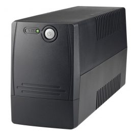 The UPS-A1500-L is a line interactive uninterruptible power supply with a max capacity of 1500VA / 900W. This UPS will protect your connected electronics from overloads