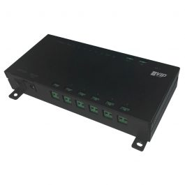 The INTIPPOE2W facilitates network & power for up to 6 2-wire intercom devices.