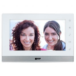 The INTIPMONFB2W is a part of the VIP Vision range of elegant indoor monitors to accompany your 2-Wire video intercom solution. The unit is operated via the resistive touchscreen