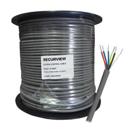 The AC200G is a 200m 6-Core tinned copper cable for use in access control systems.