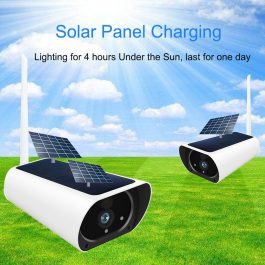 Solar & Battery Powered Security Camera 1080P - SIM Card 3G 4G GSM for remote sites with no power or internet 2