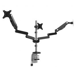 The LCDBKT-B3M is a flexible monitor arm bracket that has 360° rotation and a wide tilt/swivel angle adjustment
