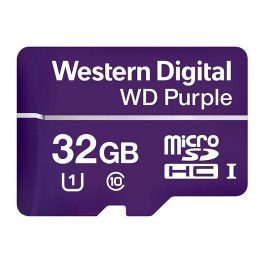 WDSD32GB is a surveillance grade MicroSD card with 32GB of storage. Record on-the-edge footage and save it directly onto MicroSD with any of our SD-compatible cameras.