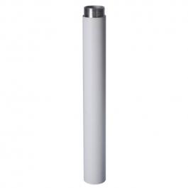 Powder coated aluminium extender for ceiling mount brackets for surveillance cameras.