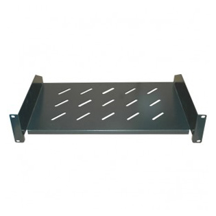 Shelf for VIP Vision wall-mounted data cabinets with 600mm depth.