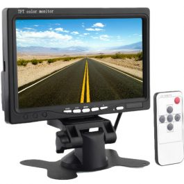 "The RHINO™ MSMON-7 is a 7.0"" TFT dash monitor for vehicles which works automatically when reversing. It provides visual and audible warnings to prevent bumping into objects and is suitable for all kinds of vehicles."