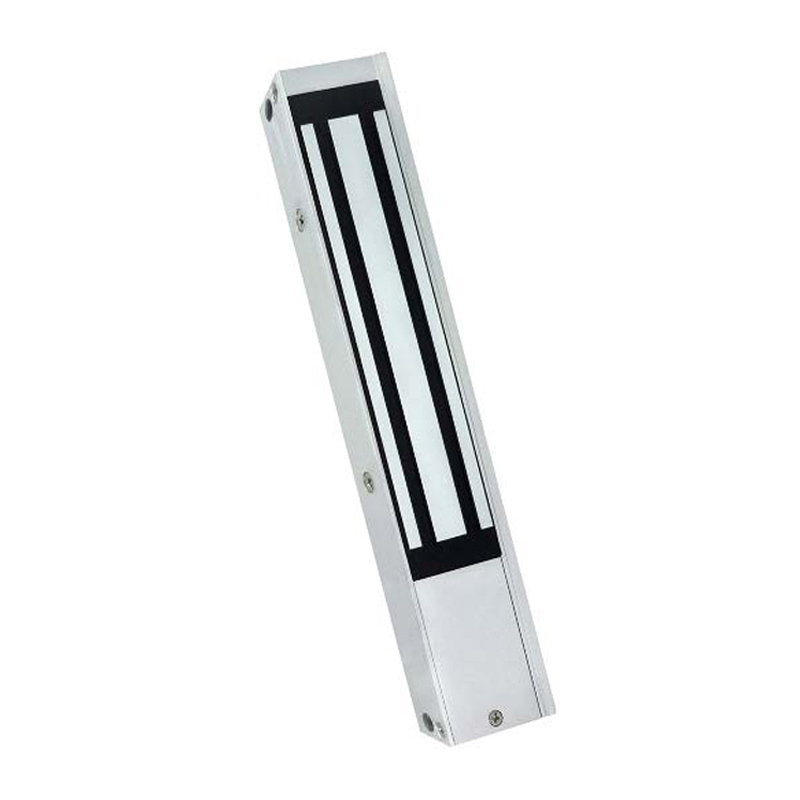 The MAGLOC100S from VIP Vision is an affordable surface mount electromagnetic lock designed to prevent entry/exit access from both sides of the door without granted access from a user.