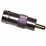 Male RCA to Female BNC adaptor