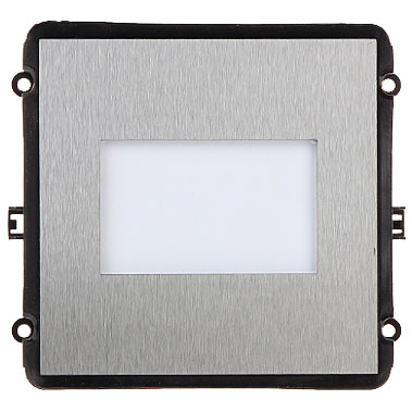 The INTIPVDSN is a blank module for the VIP Vision Multi-Tenant Intercom Series. It's a filler module with no function
