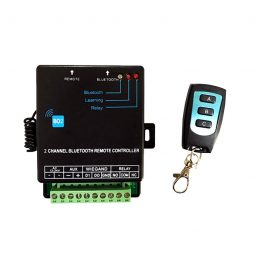 The Watchgurad WGRXBT1 is a 2 channel Bluetooth controller.  It is ideal for residential and commercial use