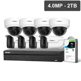 Watchguard™ Compact Series CCTV kits are entry-level