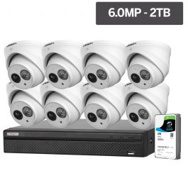 Watchguard™ Compact Series CCTV kits are affordable high performance Security Cameras ideal for homes and businesses. These CCTV packages include weather resistant cameras capable of recording triple Full HD quality at 20fps.