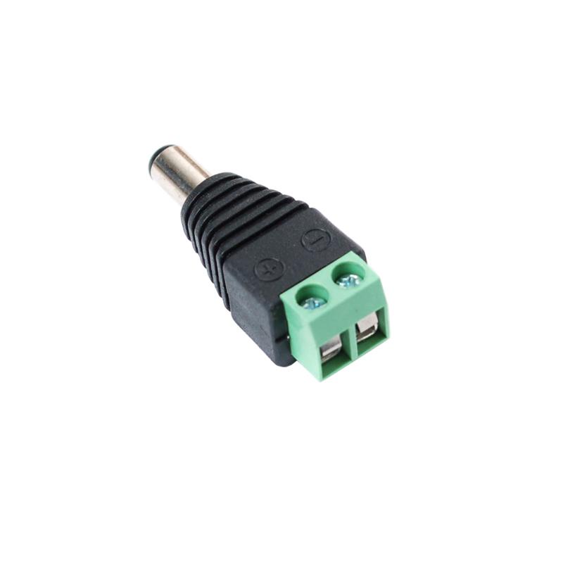 DC plug to mini terminal block