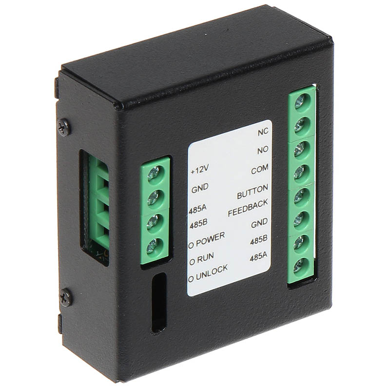 The INTIPDM Door Unlock Expander Module enables a door monitor to control a second door or gate. Built-in relay output allows the control of any NO / NC device