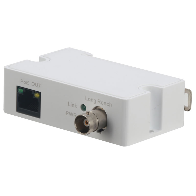 Convert RJ45 network connections to coaxial cable with the VSEOC-ATX. With these converters