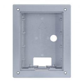 IP residential intercom door station flush mounting box. For use with INTIPRDSG only.