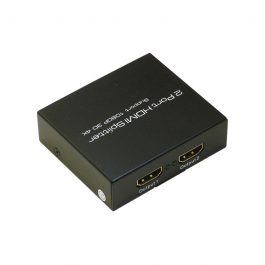 The HDMI-SPL2P distributes one HDMI source to multiple HDMI displays simultaneously. It is HDMI 1.4 compliant and has full support for 4K