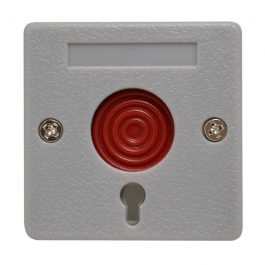 Watchguard Hardwired Panic Button Switch with Key for wired alarm panel