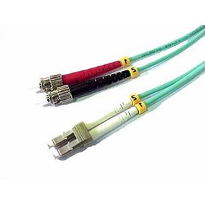 Fibre Optic 1m 10GB LC-ST Multimode Duplex Cable