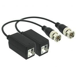 Allow installer to minimise the cost of wiring for surveillance camera installations by using network cabling such as CAT6 or CAT5e instead of Coax Cable. Video transmission range up to 250m (at 1080P) or 400m (at 720p).