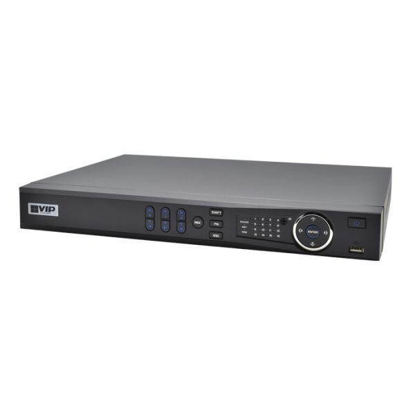 The VIP Vision NVR8PRO7 is an 8 channel network video recorder with extended PoE. It offers Ultra HD broadcast-quality image performance with 8 built-in ePoE for Power over Ethernet at ranges up to 800m
