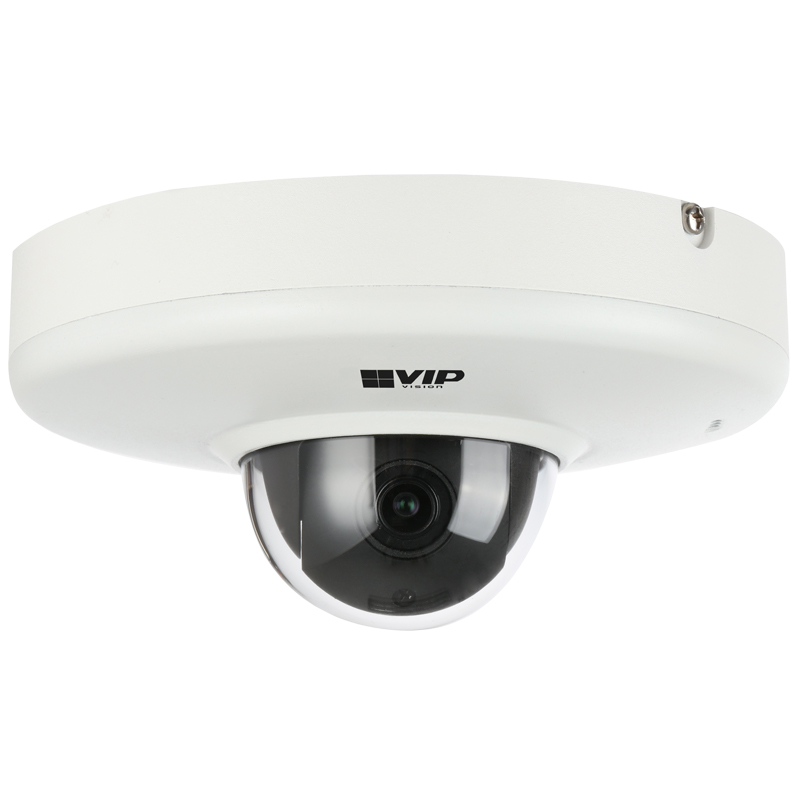The VSIPPT-2VDIR offers superb surveillance control in a compact package. It features an array of intelligent video functions and captures colour footage in low light