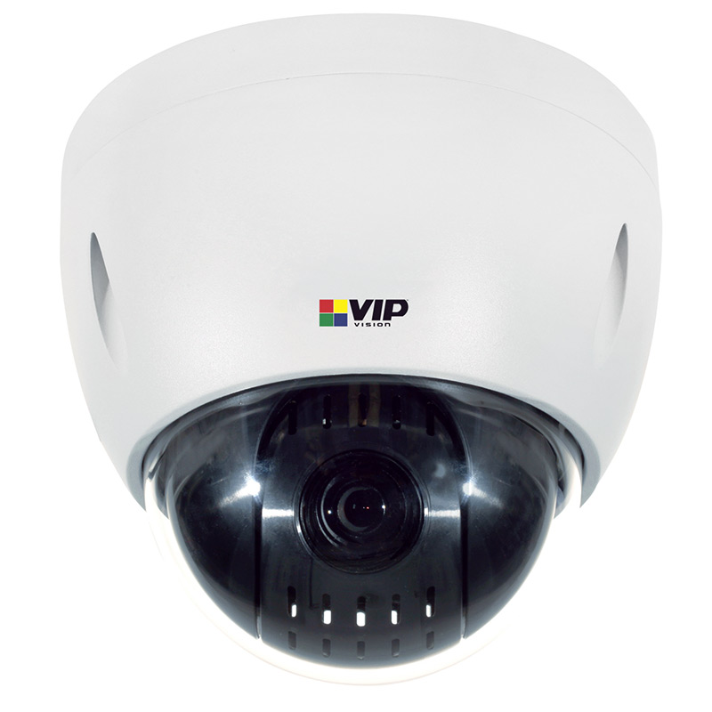 The VSIP2MPPTZV3 offers the image control and versatility of 12x optical zoom